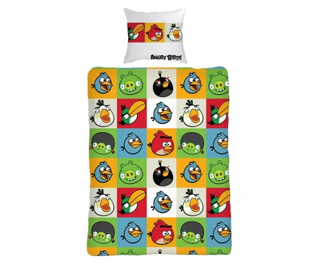 Posteľná sada Single Ranforce Extra Angry Birds All
