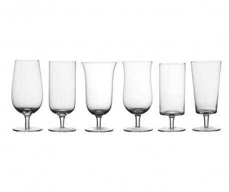 Сервиз 6 чаши за бира Light Clear 400 мл