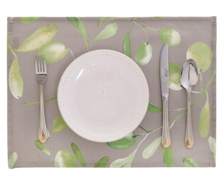 Set 2 individualuri Light Olive Garden 33x45 cm