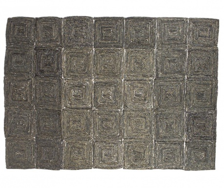 Килим тип черга Zante Grey 150x210 см