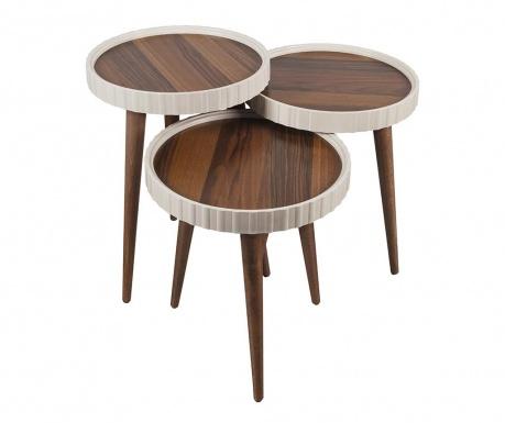 Roundy 3 db Asztalka