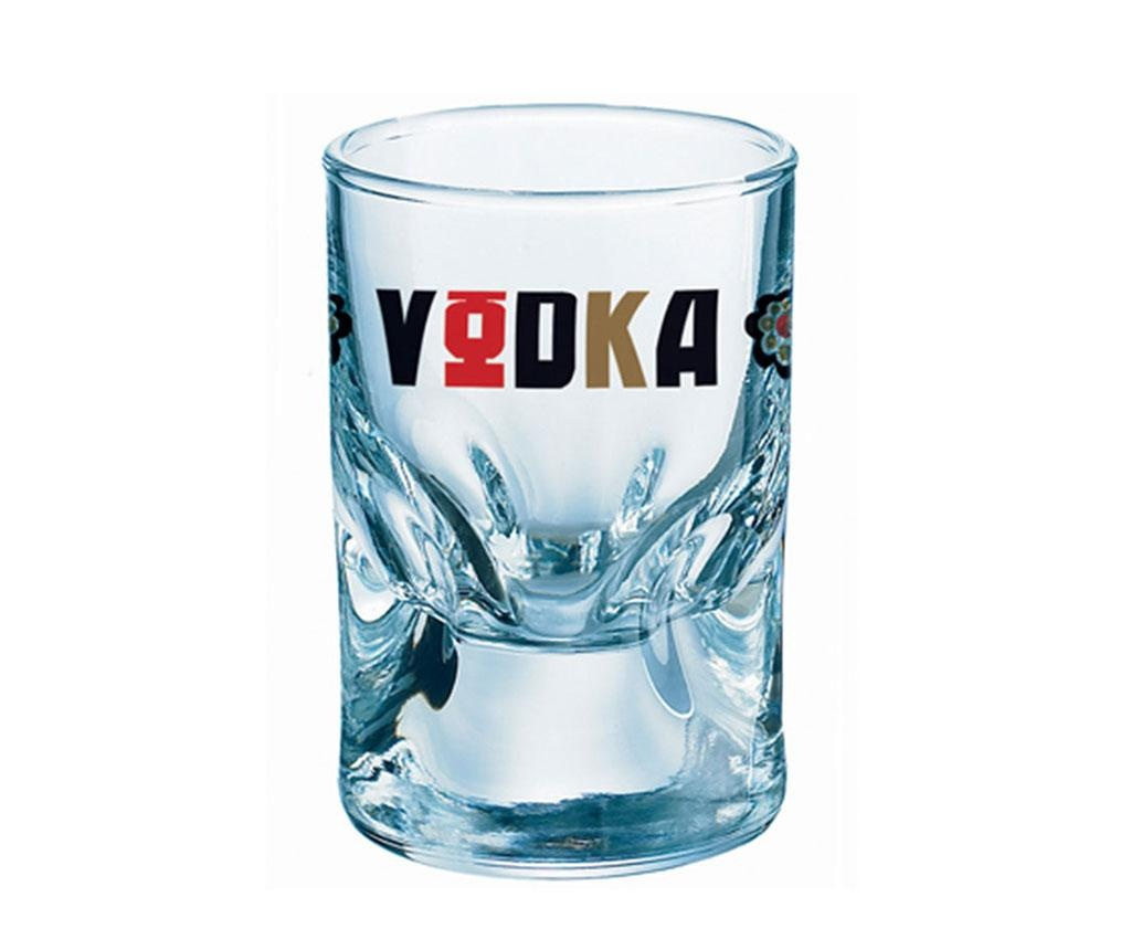 Set 6 kozarcev za žganje Duke Vodka 50 ml