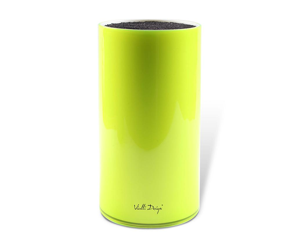 Suport pentru cutite Livio Green - Vialli Design, Verde imagine 2021