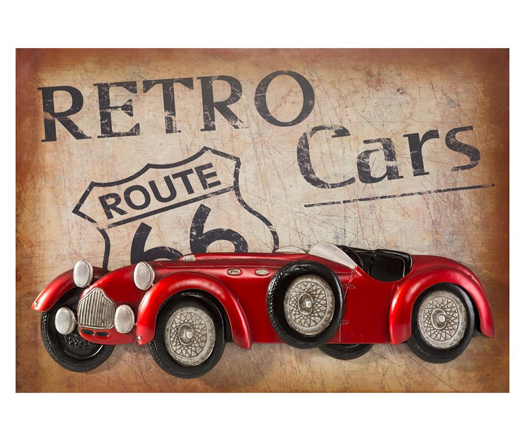 Decoratiune de perete Retro Car - Eurofirany, Multicolor de la Eurofirany