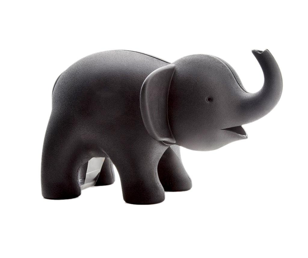 Suport rola scotch Elephant Black - Qualy, Negru
