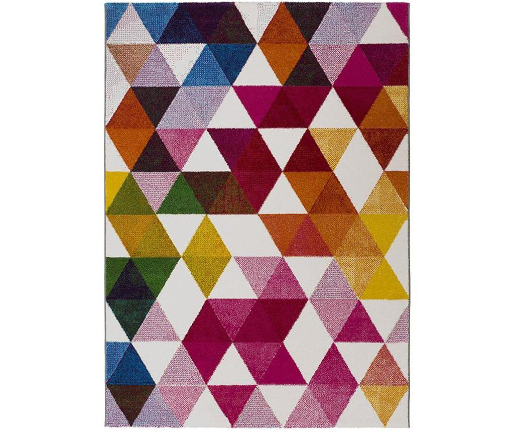 Covor Tikey Triangles Multicolor