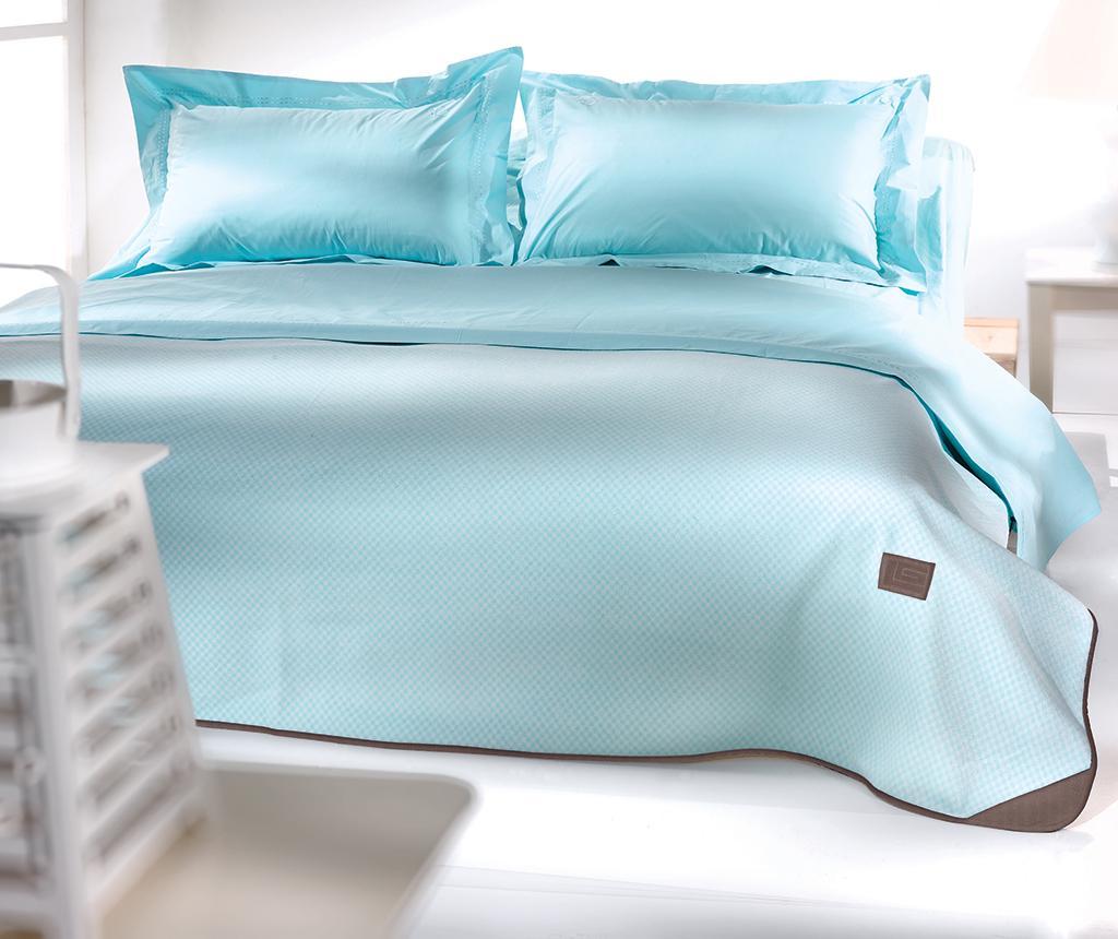Patura Polar Aqua 230x250 cm - Guy Laroche Home, Albastru
