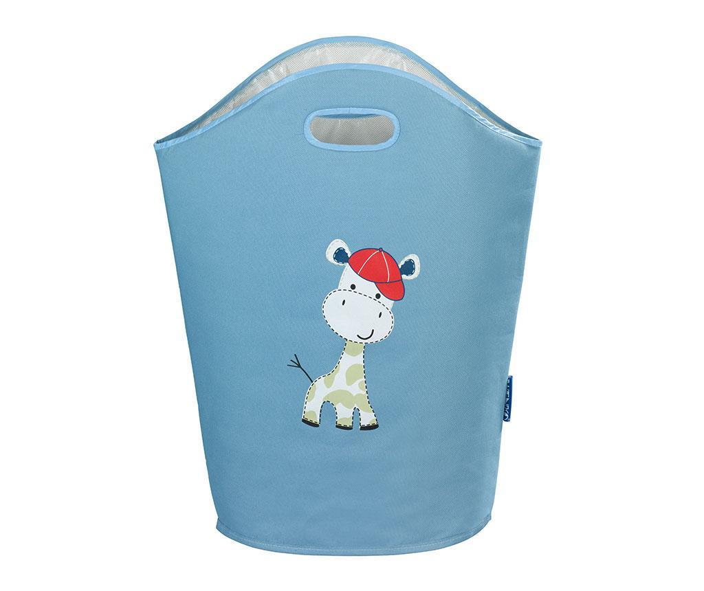 Geanta pentru rufe Baby Giraffe Blue 24 L - Wenko, Albastru