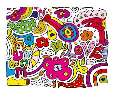 Тапет Peace Love 160x200 см