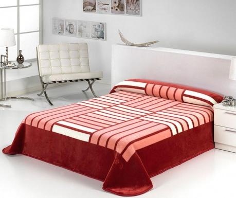 Κουβέρτα Tokyo Stripes Bordeaux 220x240 cm