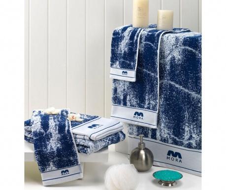 Σετ 2 πετσέτες μπάνιου Relax Blue 30x50 cm