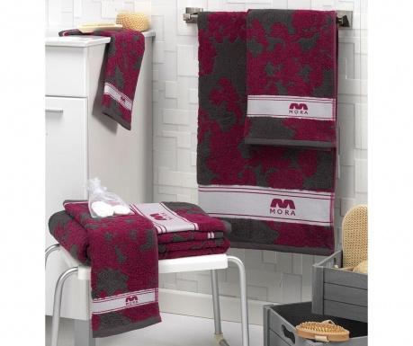 Σετ 2 πετσέτες μπάνιου Nerwe Purple 30x50 cm