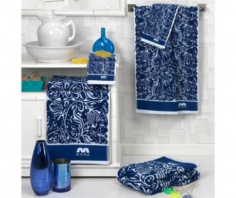 Σετ 2 πετσέτες μπάνιου Irith Blue 30x50 cm