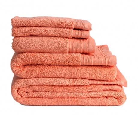 Πετσέτα μπάνιου Lisa Salmon 50x100 cm