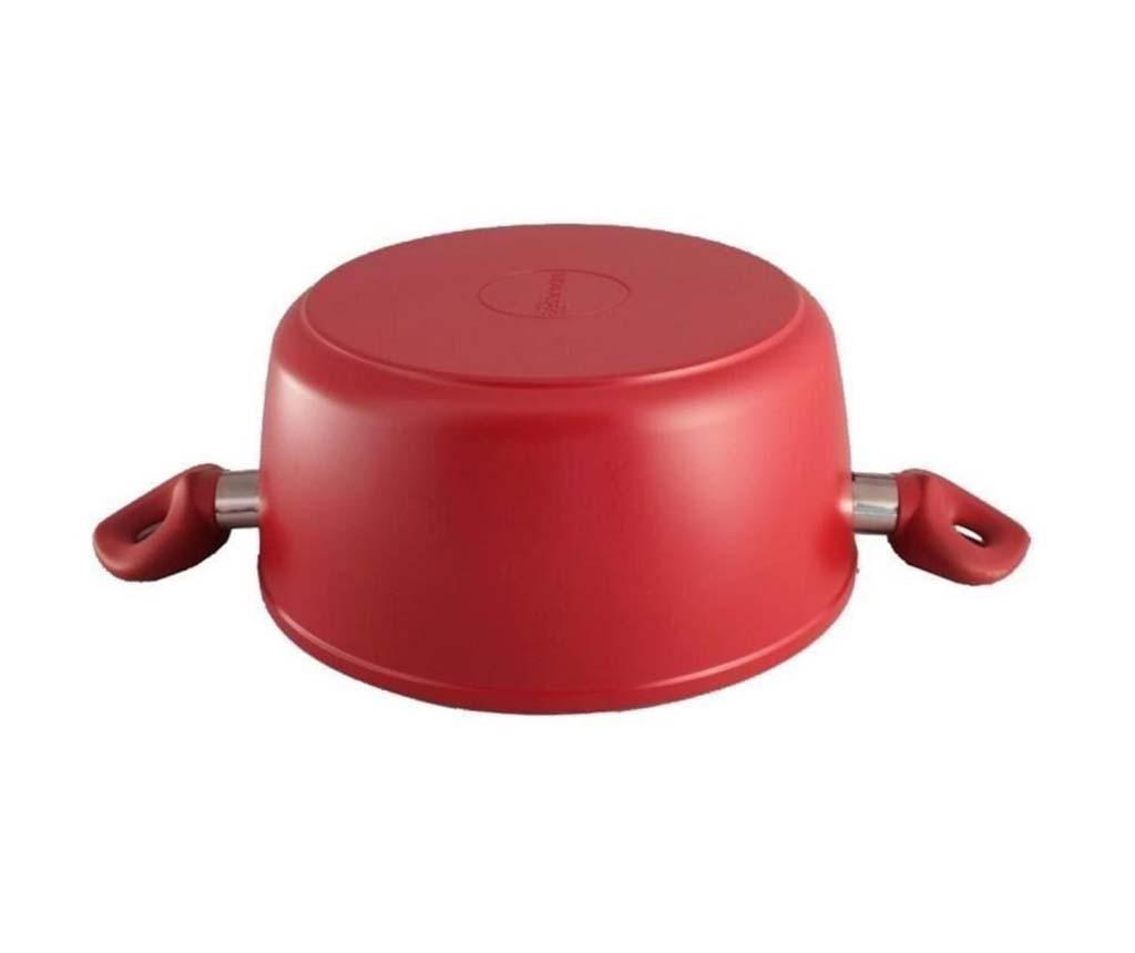 Lonac s poklopcem Feeling Chef Red 4.4 L