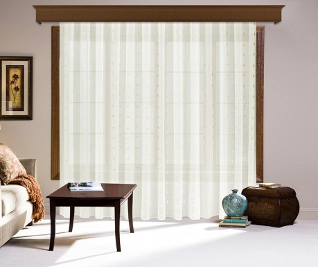 Curtain Harper Cream 200x260 cm