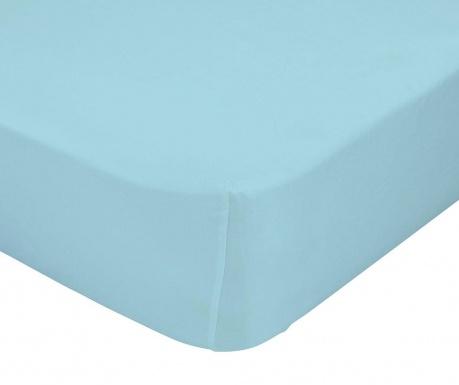 Долен чаршаф с ластик Basic   Blue 90x200 см