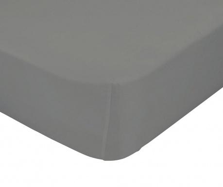 Cearsaf de pat cu elastic Basic Stone 90x200 cm