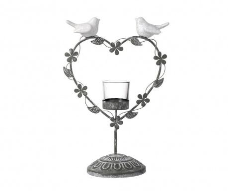 Podstavec na svíčku Lovebirds