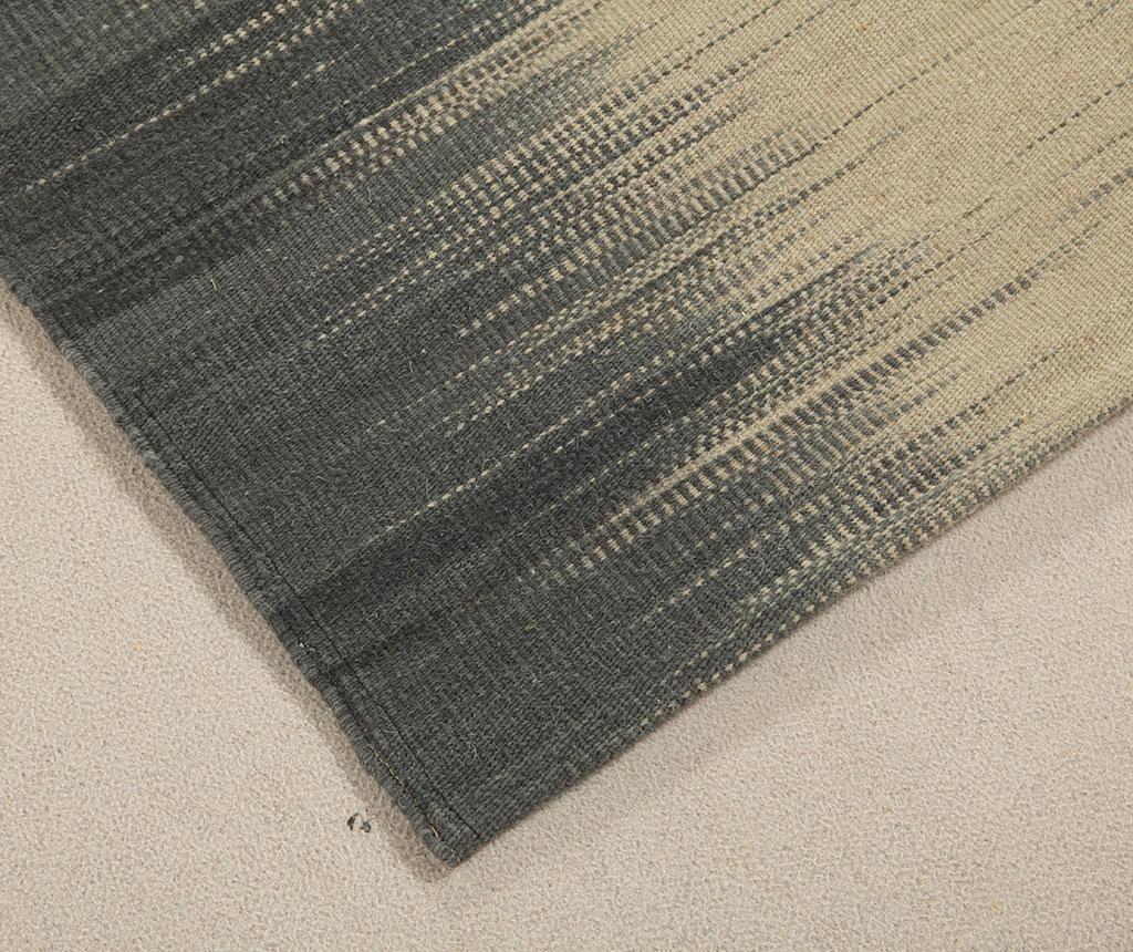 Tepih Kilim Denim Grey 60x200 cm