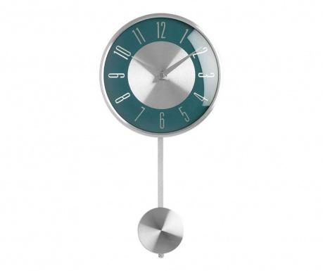 Zegar ścienny z wahadłem Style Blue
