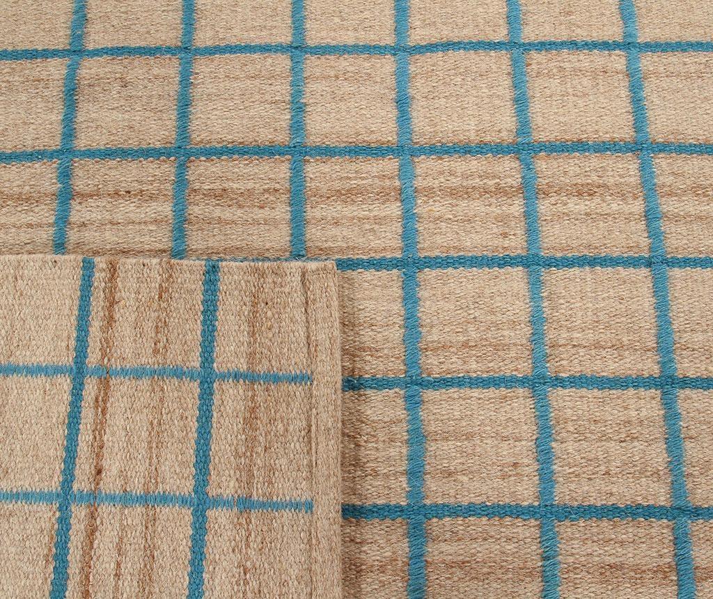 Tepih Kilim Box Blue 100x160 cm