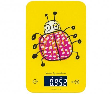 Cantar digital de bucatarie Bug Yellow