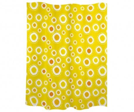 Zavjesa za tuš Suns Orange 180x200 cm