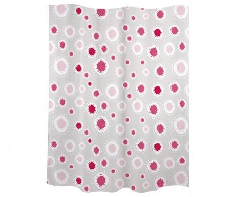 Zavjesa za tuš Suns Pink 180x200 cm