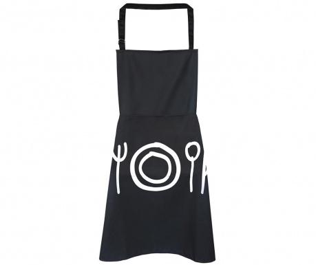 Кухненска престилка Cutlery Black