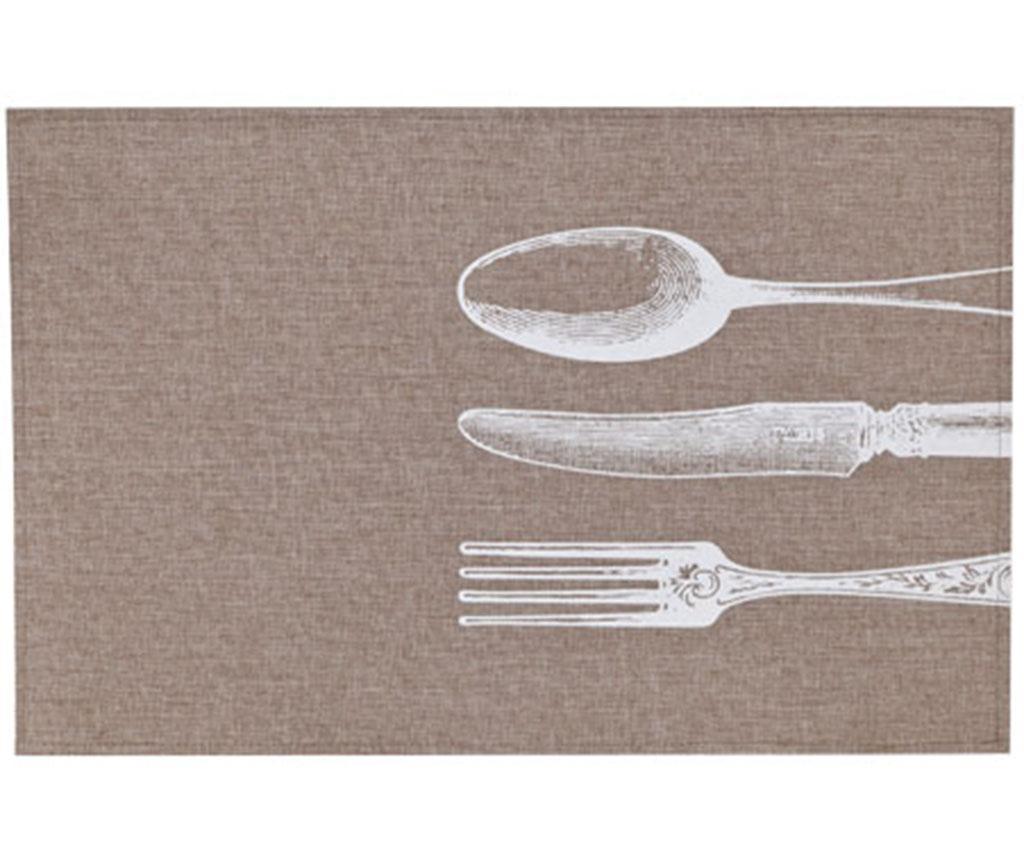 Podmetač Cutlery White 30x45 cm