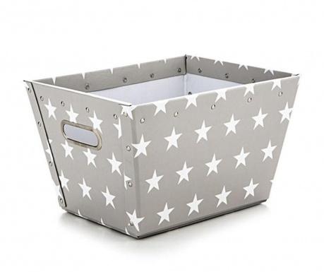 Cutie pentru depozitare Ajax Stars Light Grey S