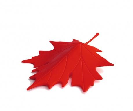 Leaf Red Ajtótámasz