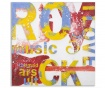 Tablou I Love Rock 100x100 cm