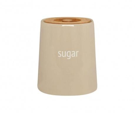 Dóza s víkem na cukr Ines Beige 800 ml