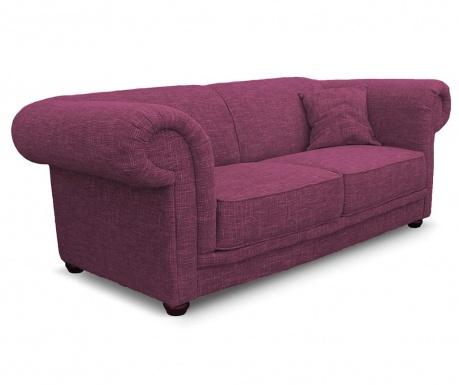 Třímístná pohovka Aubusson Dark Pink