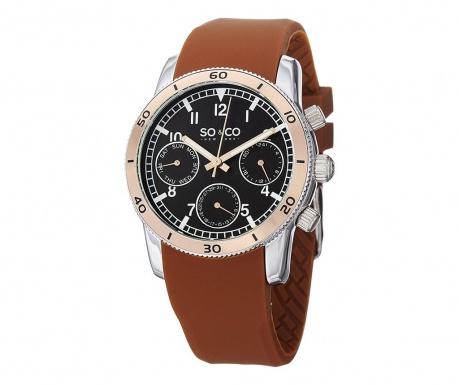 Ανδρικό ρολόι χειρός So&Co Yacht Timer Brown