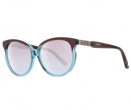 Okulary przeciwsłoneczne damskie Swarovski Butterfly Bicolor