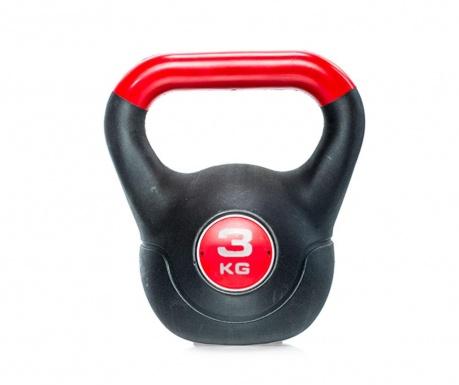 Nillo Black and Red Kettlebell súlyzó