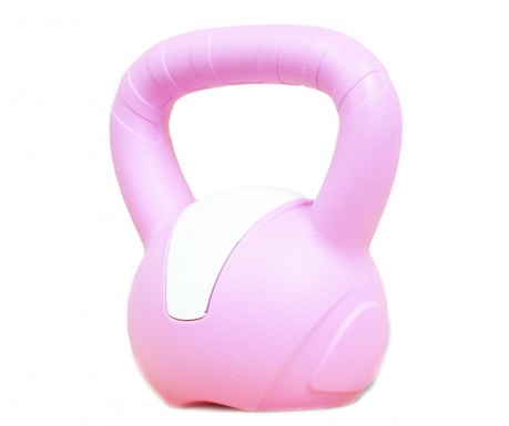 Emotion Light Pink Kettlebell súly 3 kg