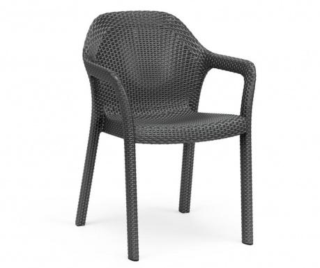 Vrtni stol Carver Black