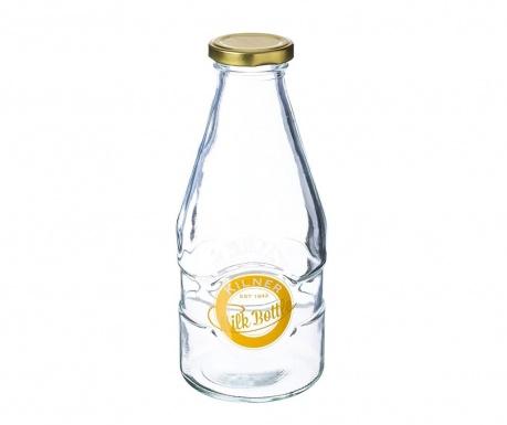 Бутилка за мляко с капачка Dronis 568 мл