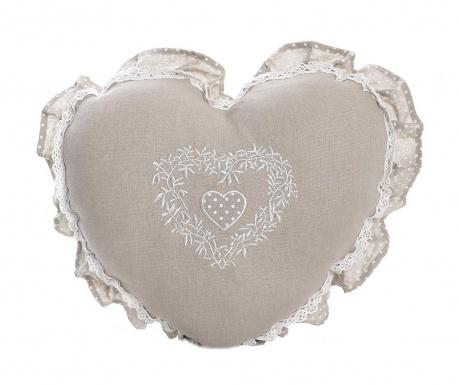 Декоративна възглавница Elza Heart 38x38 см