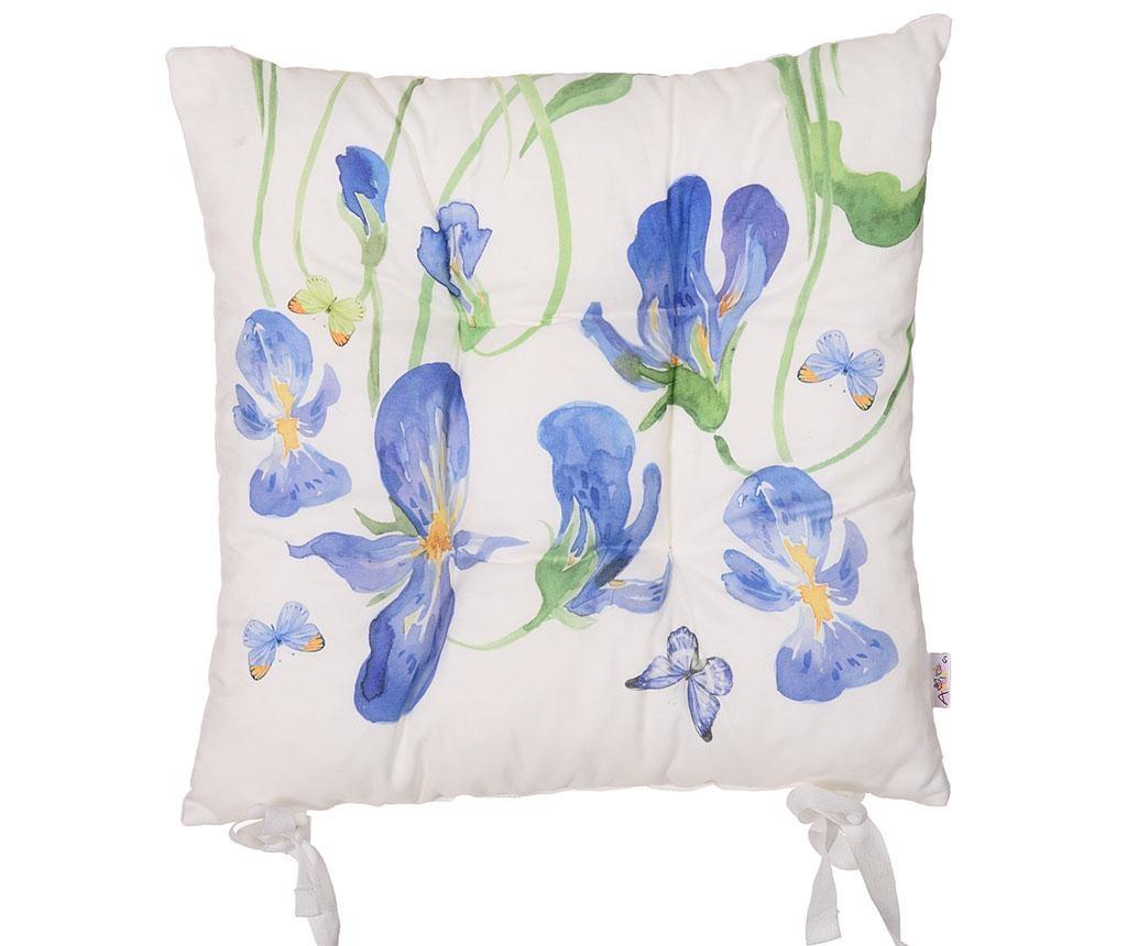 Sedežna blazina Iris and Butterfly 37x37 cm