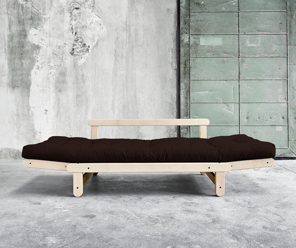 Kauč na razvlačenje Beat Natural & Chocolate