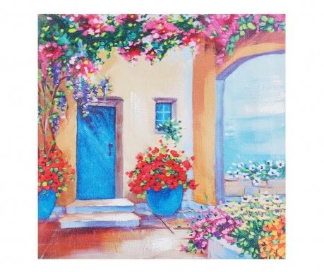 Tablou Floral Paradise 20x20 cm