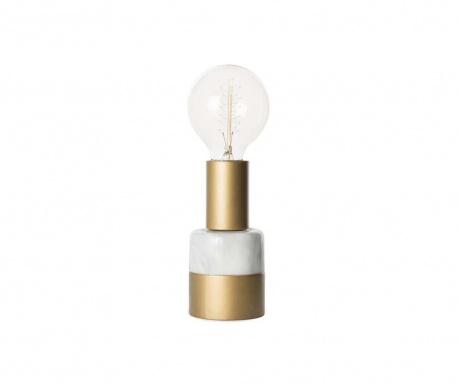Нощна лампа Eureka Gold & White