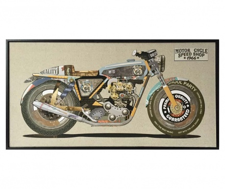 Tablou Perfect Motorcycle 42x82 cm
