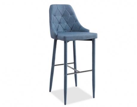 Barski stol Tom Blue