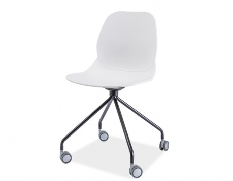 Desk chair Alfio White